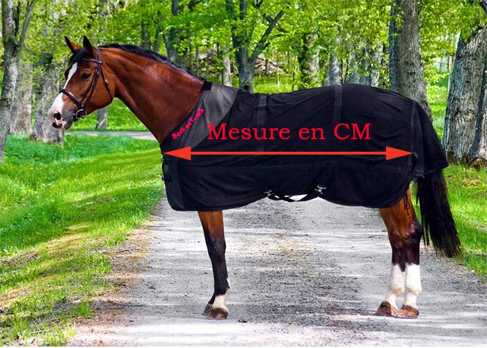 Choisir la bonne taille de couverture pour son cheval sellerie alegria le sp cialiste du - 1m70 en pied ...