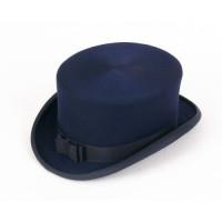 Christys':Chapeau de dressage 4 1/4 '' Navy laine