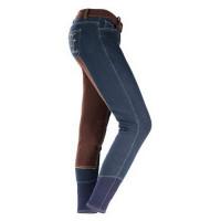 Horze: Pantalon fond peau Acacia