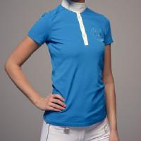 Vertigo polo de concours pour femme bleu