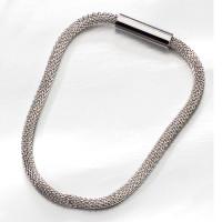 Swarovski bracelet couleur métal fermeture magnétique