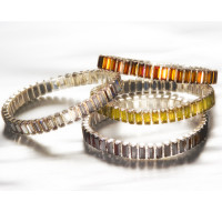 Otto Schumacher bracelet barrettes Swarovski