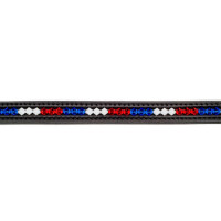 Otto Schumacher frontal Swarovski Bleu-Blanc-Rouge