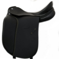 Dynamic  SF -L (couture sable) Selle de dressage  Otto Schumacher 17' de stock