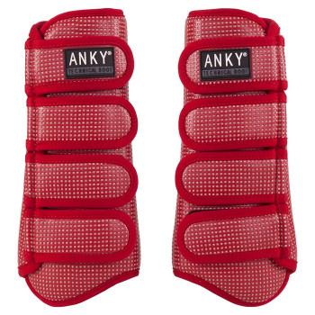 Anky: Guêtres Technical Boot Matt-Climatrole Rubby (New)