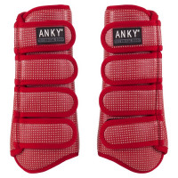 Anky: Guêtres Technical Boot Matt-Climatrole Rubby (New)
