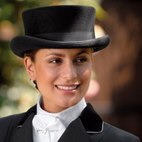 ELT: Chapeau de dressage Noir