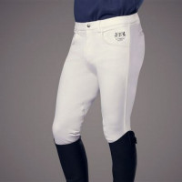 B Vertigo: Pantalon David Fond cuir